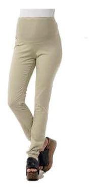 Pantalon De Gabardina Embarazada