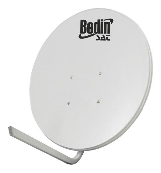 Antena De Tv Bedin Sat Chapa 60cm Banda Ku 10.70/12.75 Ghz