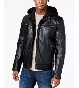 Jaqueta Michael Kors Faux-leather Neoprene- Bomber