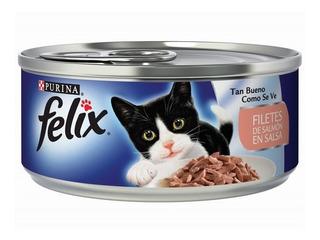 Felix Lata Filete De Salmón En Salsa - kg a $4550