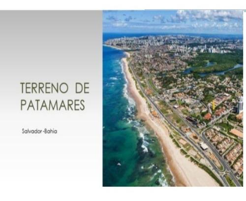 Imagem 1 de 5 de Alugo Terreno 2.371,20 M², Vista Mar, Patamares, 500m Da Praia, 1km Do Parque Pituaçu, Salvador, Bahia, Valor De Locação Total: R$9.819,00 - L602 - 34338639