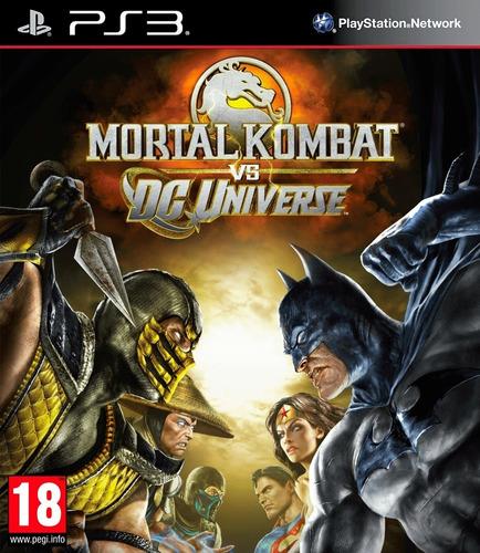 Mortal Kombat Vs Dc Universe Juego Digital Ps3