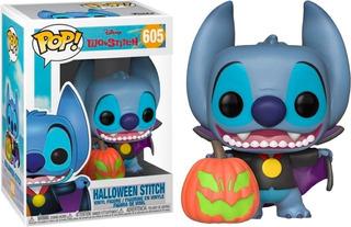 Funko Pop Disney - Halloween Stitch 605 Exclusivo - Original