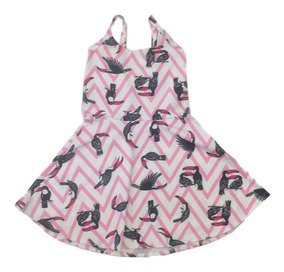 06 Vestido Infantil Menina Estampados Roupas Atacado