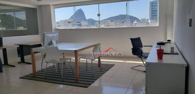 Sala Para Alugar, 70 M² Por R$ 3.400/mês - Catete - Rio De Janeiro/rj - Sa0178