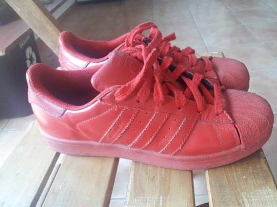 Zapatillas adidas Superstar Color Pharrell Rojas