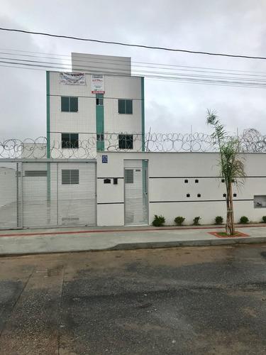 Apartamento Com Área Privativa Com 2 Quartos Para Comprar No Nacional Em Contagem/mg - 6135