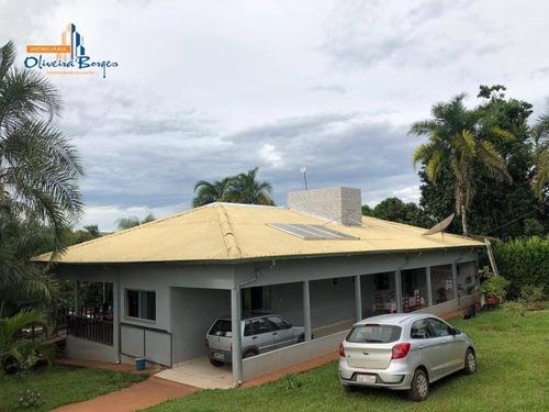 Chácara Com 3 Dormitórios À Venda, 15000 M² Por R$ 680.000,00 - Rural - Goianápolis/go - Ch0103