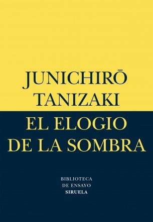 Elogio De La Sombra, Junichiro Tanizaki, Siruela
