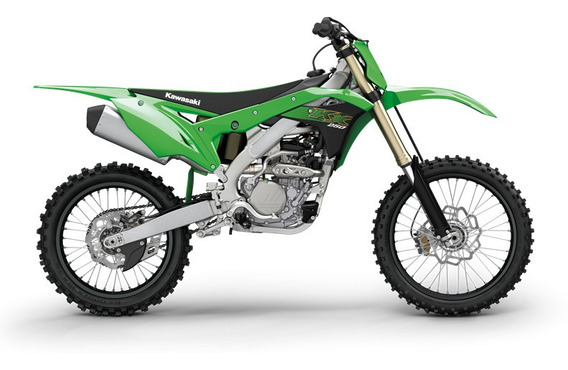 Kawasaki Kx 250 F Linea 2020 0km Color Verde