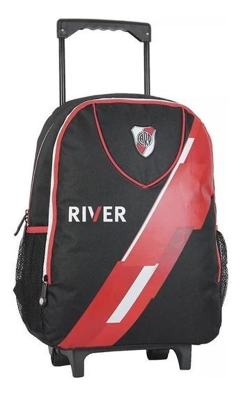 Mochila River Plate Carrito Colegio Original Lic Cuotas