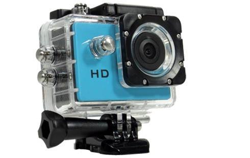 Câmera Filmadora Sports Full Hd. Funciona Até Embaixo D