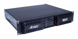Amplificador Apogee Qx4 4 Canales 2500w