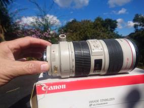 Canon 70-200mmf/2.8 L Is Unico Dono E 12xs/juros