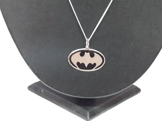 Dije De Plata 925 Murcielago Bat Man Joyeria Fina Taxco