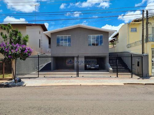 Casa À Venda, 170 M² Por R$ 550.000,00 - Lago Parque - Londrina/pr - Ca0354