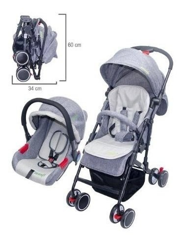 Coche Travel System Avanti Dark Grey
