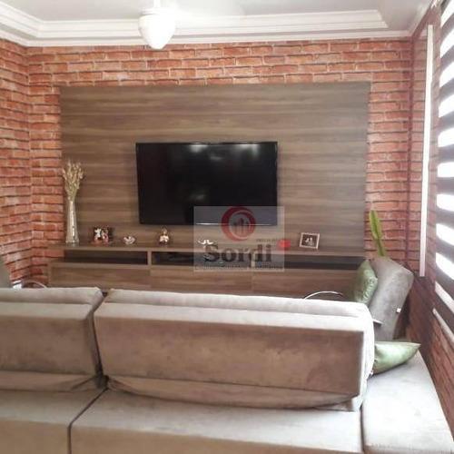 Casa À Venda, 146 M² Por R$ 480.000,00 - Jardim Antártica - Ribeirão Preto/sp - Ca2910