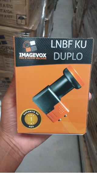 Lnb Duplo Hd Universal Novo Garantia De 01 Ano
