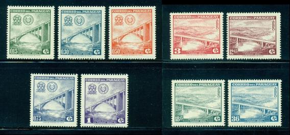 # Mcn # Paraguai 1961 - Ponte Rio Paraná - Série Nova, Mint