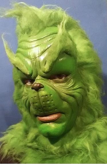 Máscara De Látex, Grinch, Navidad Disfraz Halloween
