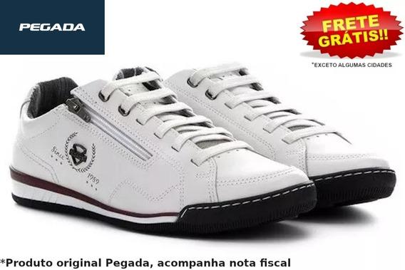 Sapatênis Masculino Pegada Amortech 116910 Branco Original