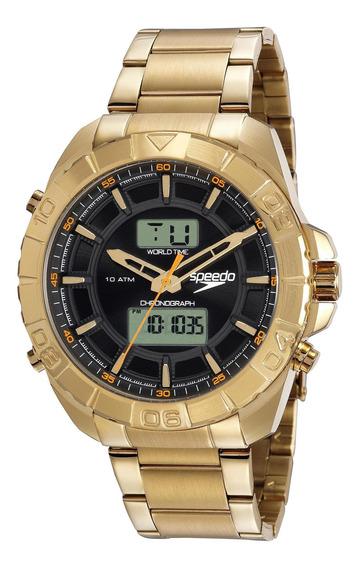 Relógio Speedo Anadigi Masculino Big Case 50mm 15011gpevds1