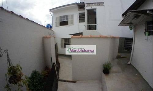 Casa Para Alugar, 40 M² Por R$ 1.300,00/mês - Vila Gumercindo - São Paulo/sp - Ca0342