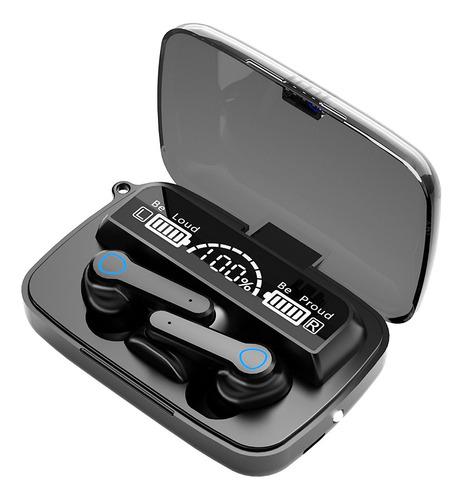 Imagen 1 de 10 de M19 Tws Bt5.1 Auriculares Inalámbricos 3d Control Táctil Led