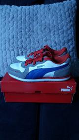 40a11cd049b Tenis Puma Cabana Racer Sl Infantil Junior N° 32 Original