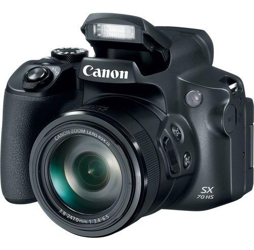 Câmera Canon Powershot Sx70 Hs - Semi-profissional 65x Zoom