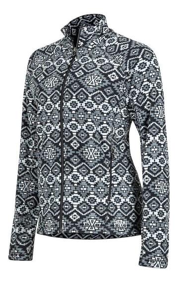 Chaqueta Polar Marmot Rocklin Full Zip Jacket Gris Dama
