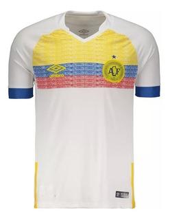 Camisa Chapecoense Oficial 2 Umbro La Pasion Nations 2018