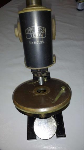 Microscópio Zeiss Antigo