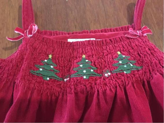 Súper Oferta Vestido De Navidad Talla 12 Meses Epk