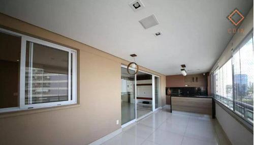 Apartamento Com 3 Dormitórios À Venda, 147 M² Por R$ 2.126.000,00 - Brooklin - São Paulo/sp - Ap51915