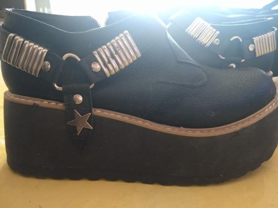 Zapatos Con Colgante Y Plataforma