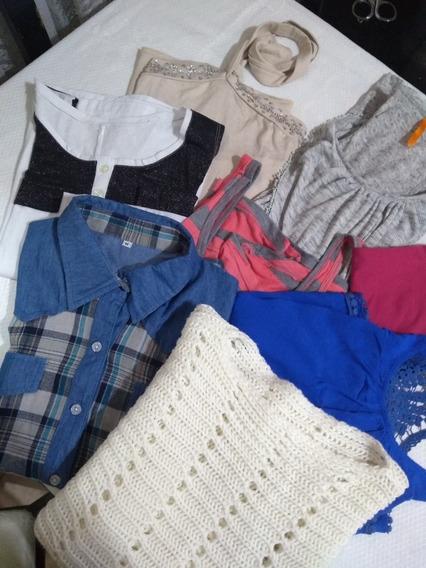 Lote De Camisa, Musculosas Y Swetter De Mujer. 8 Prendas #2