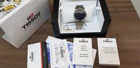 Relógio Tissot Masculino Couturier Preto Automático Aço Dat