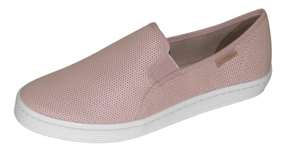 Tênis Slipper Feminino Bottero Casual Rosa
