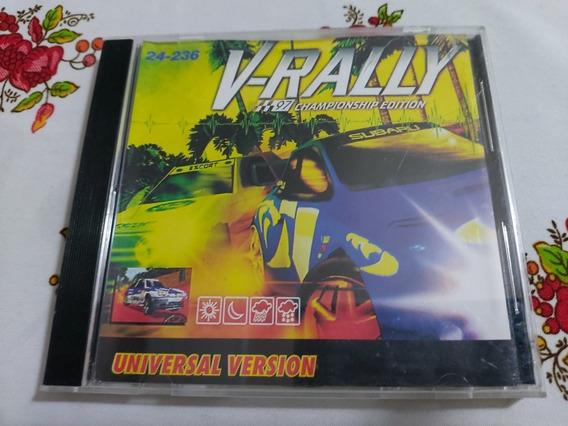 V-rally 97 Championship Edition Patch Prensado Prateado Ps1