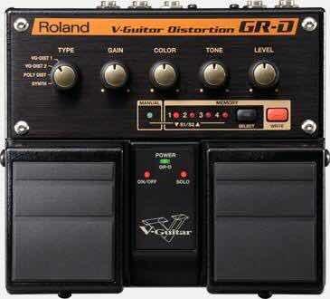 Pedal Roland Boss Gr-d V Guitar Novo Sintetizador Distorção