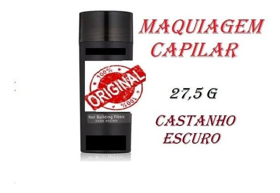 Maquiagem Capilar Top Pi K Hair 27,5g Castanho Escuro