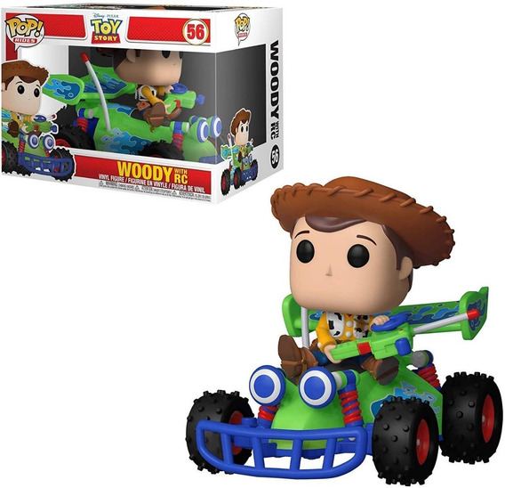 Funko Pop Rides : Disney Toy Story - Woody With Rc