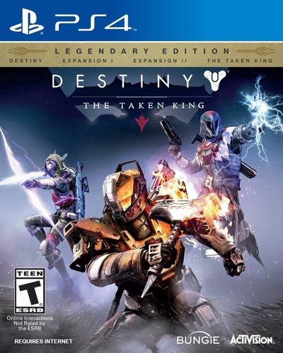 Imagen 1 de 3 de Destiny The Taken King Legendary Ps4 Original + Garantía