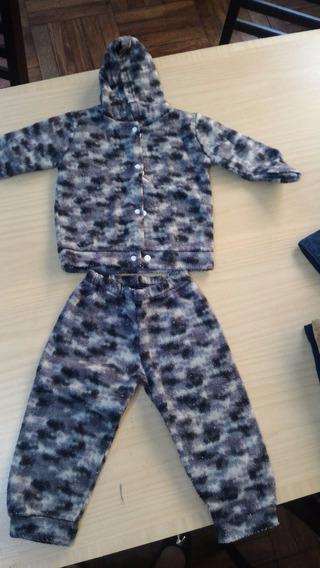 Pijama Plush Infantil Tamanho 03