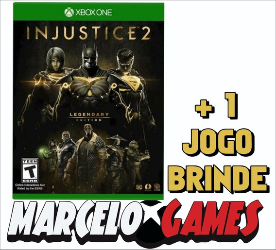 Injustice 2 Legendary Edition Xbox One Midia Digital