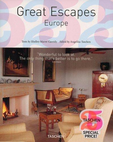 Livro Em Inglês - Great Escapes - Europe 25th