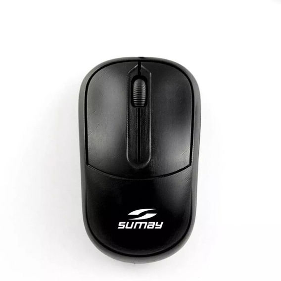 Mouse Óptico Usb Preto Revenda Barato