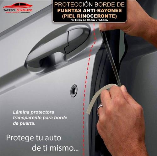 Lámina Protectora Para Borde De Puerta Invisible Autos